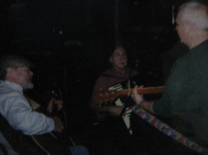 L to R Bill Morrison, Gene Christy, and Billy Mac at the Inn at the Long Trail in Killington in 2008